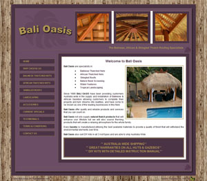 The Web Hub : Bali Oasis Website Design