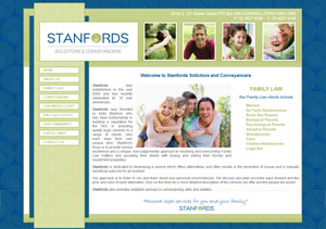 The Web Hub : Stanfords Solicitors Website Design